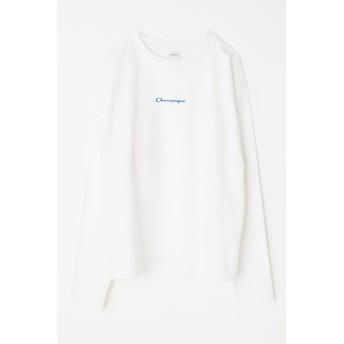 CHAMPAGNE LS Tシャツ