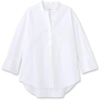 【手洗い可】高密度タイプライターパール調ボタンシャツ