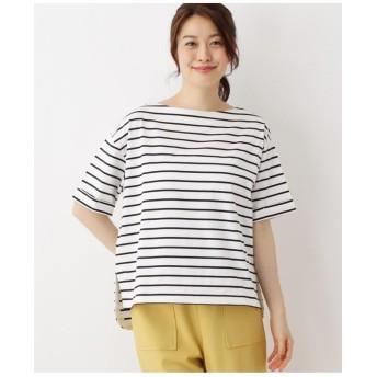 【UVカット・34(SS)、42(LL)WEB限定サイズ】スーピマコットンゆるシルエットTシャツ