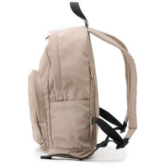 【軽量バッグ】スターキルティングポケットリュック
