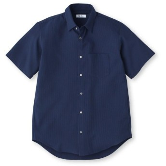 COOLMAXシアサッカーカットソーシャツ