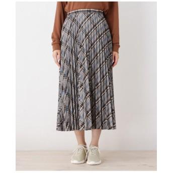 【WEB限定サイズあり】チェックプリーツスカート