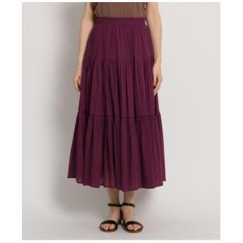 【Lサイズあり】【GISELe6月号掲載】ティアードスカート