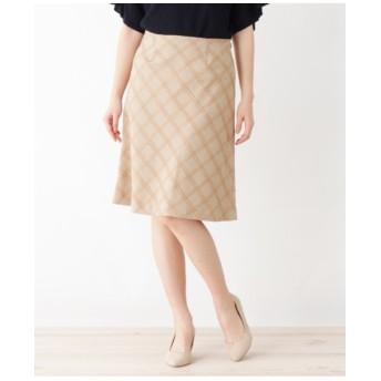 千鳥ブロックスカート