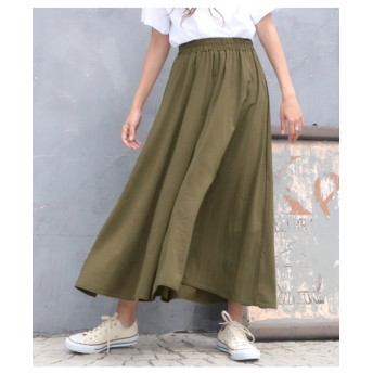 【anap mimpi】 フレアロングスカート