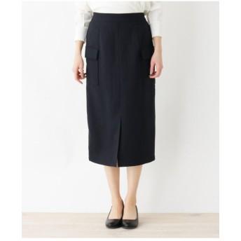 【洗濯機OK】ミモレペンシルスカート