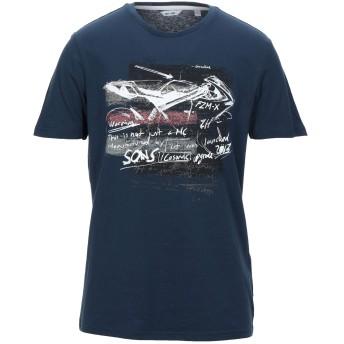 《セール開催中》ONLY & SONS メンズ T シャツ ダークブルー M コットン 100%