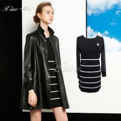 CHENG DA 秋冬專櫃精品時尚流行長袖洋裝 NO.566024