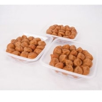 【和歌山県/紀州南高梅】紀州南高梅 うす塩味1.5kg(500g×3パック)、塩分約6%
