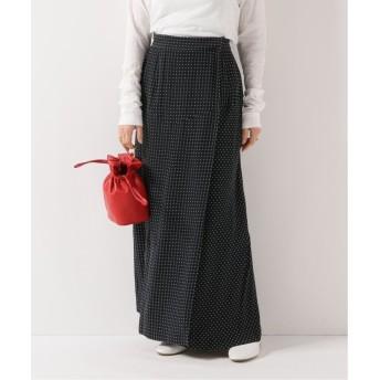 スピック&スパン ラップロングスカート◆ レディース ブラック フリー 【Spick & Span】