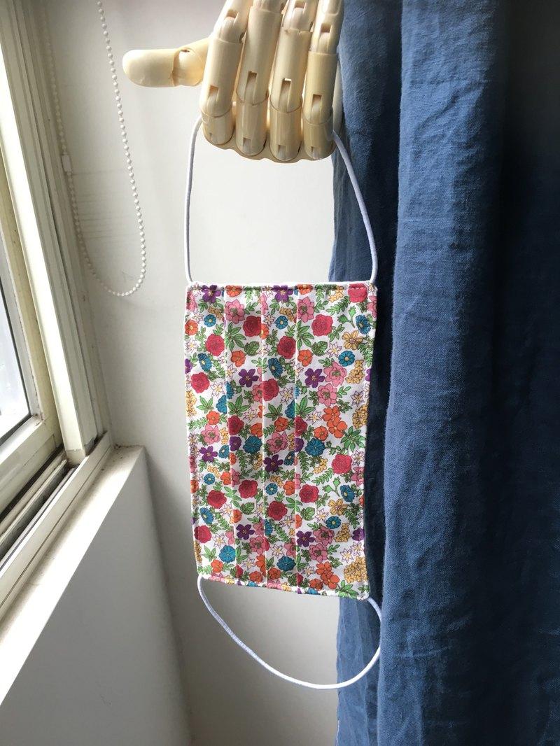 韓薔薇花園口罩or口罩套-韓國製棉日本二重紗(可寄送海外)