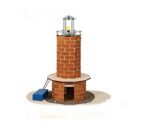 德國 teifoc - 【新品】益智磚塊建築玩具-燈塔