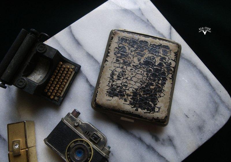 【老時光 OLD-TIME】早期台灣製菸盒