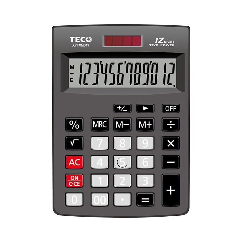 東元TECO XYFXM011桌上型計算機(黑色)