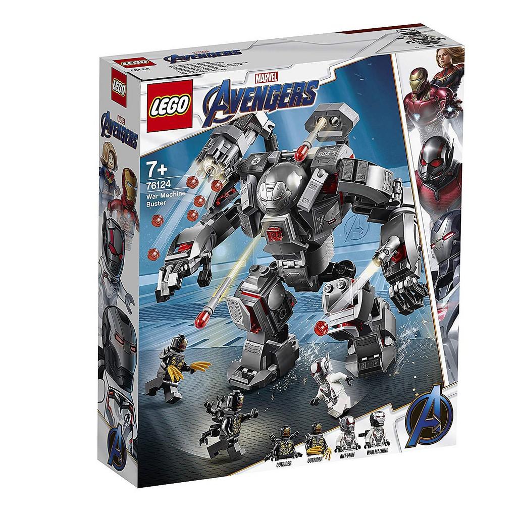 樂高 LEGO 超級英雄系列 LT76124 War Machine Buster