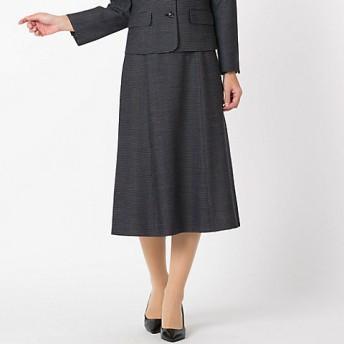 <Liliane Burty ECLAT/リリアンビューティ エクラ> ツィードスカート(73042041) ネービーブルー【三越・伊勢丹/公式】