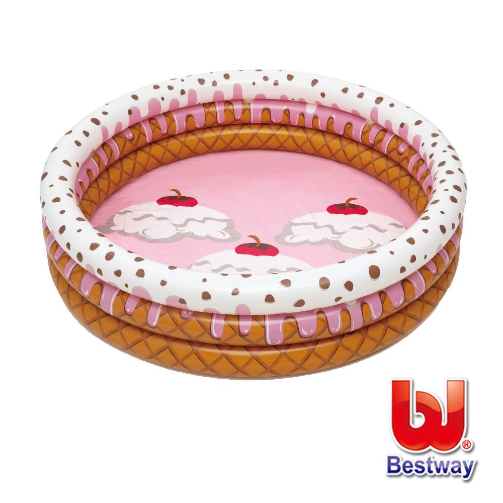 Bestway 超萌冰淇淋聖代球池/泳池兩用池 51144