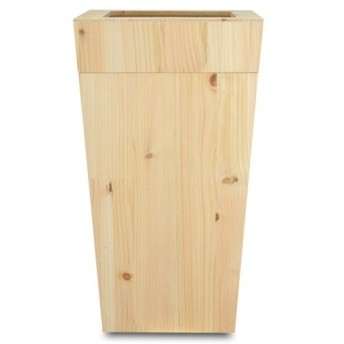 橋本達之助工芸 紀州ひのきダストBOX L角 中子付 「Kisyu Hinoki dust box」 ナチュラル 9.5L