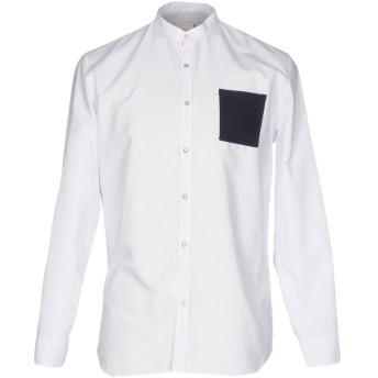 《セール開催中》PMDS PREMIUM MOOD DENIM SUPERIOR メンズ シャツ ホワイト XL コットン 100%