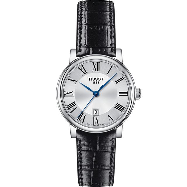 TISSOT 天梭 T-Classic都會品味女錶 T1222101603300