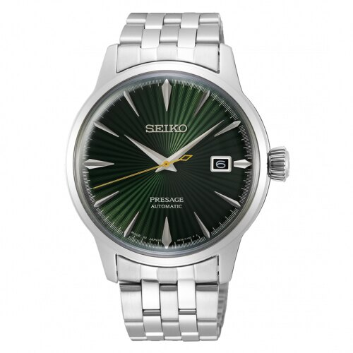 SEIKO PRESAGE 紳士品味機械腕錶4R35-01T0L(SRPE15J1)