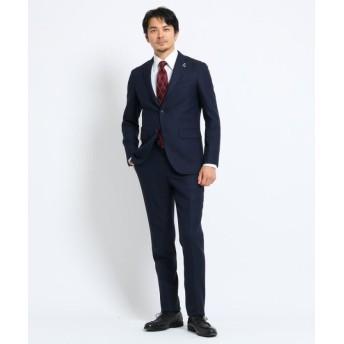【30%OFF】 タケオキクチ 檜垣紋 スーツ メンズ ネイビー(093) 04(LL) 【TAKEO KIKUCHI】 【タイムセール開催中】