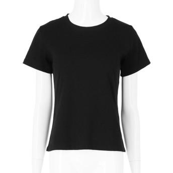 CHILLE シンプルタイトTシャツ(ブラック)