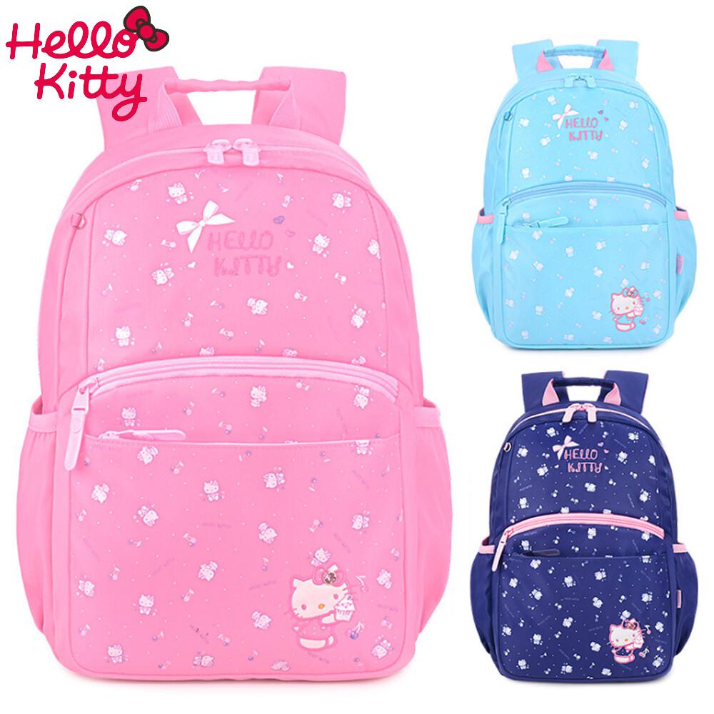 star baby三麗鷗hello kitty甜美印花小學生書包 後背包1-3年級適用