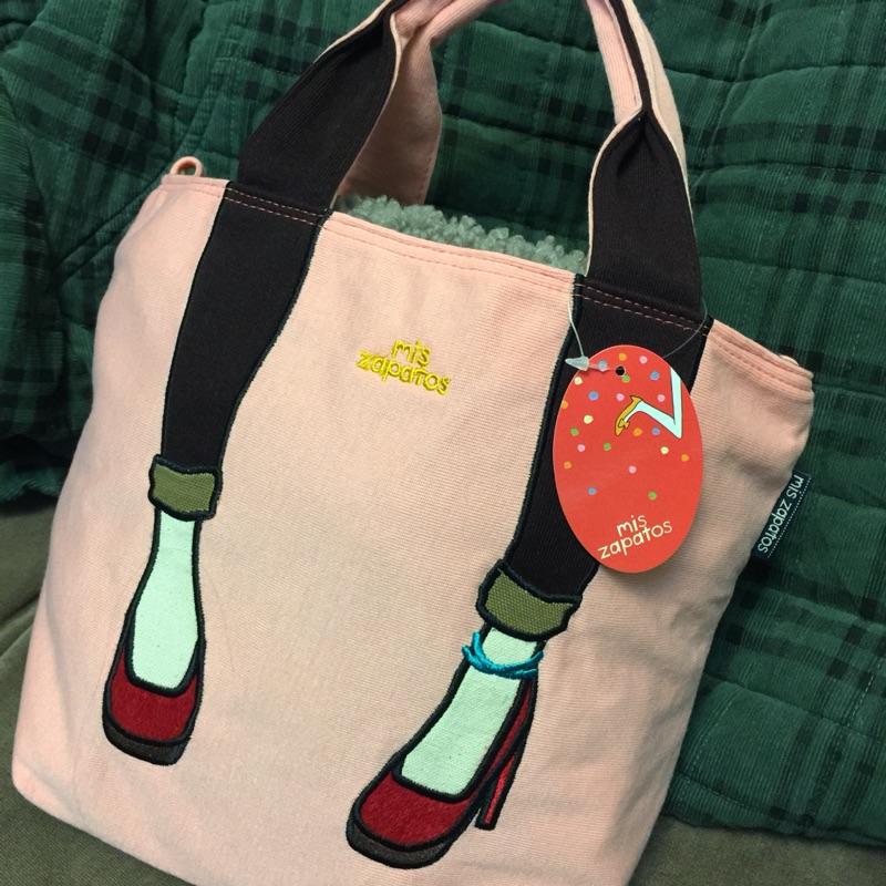 日本zapatos美腿紅高跟鞋兩用two way手提包