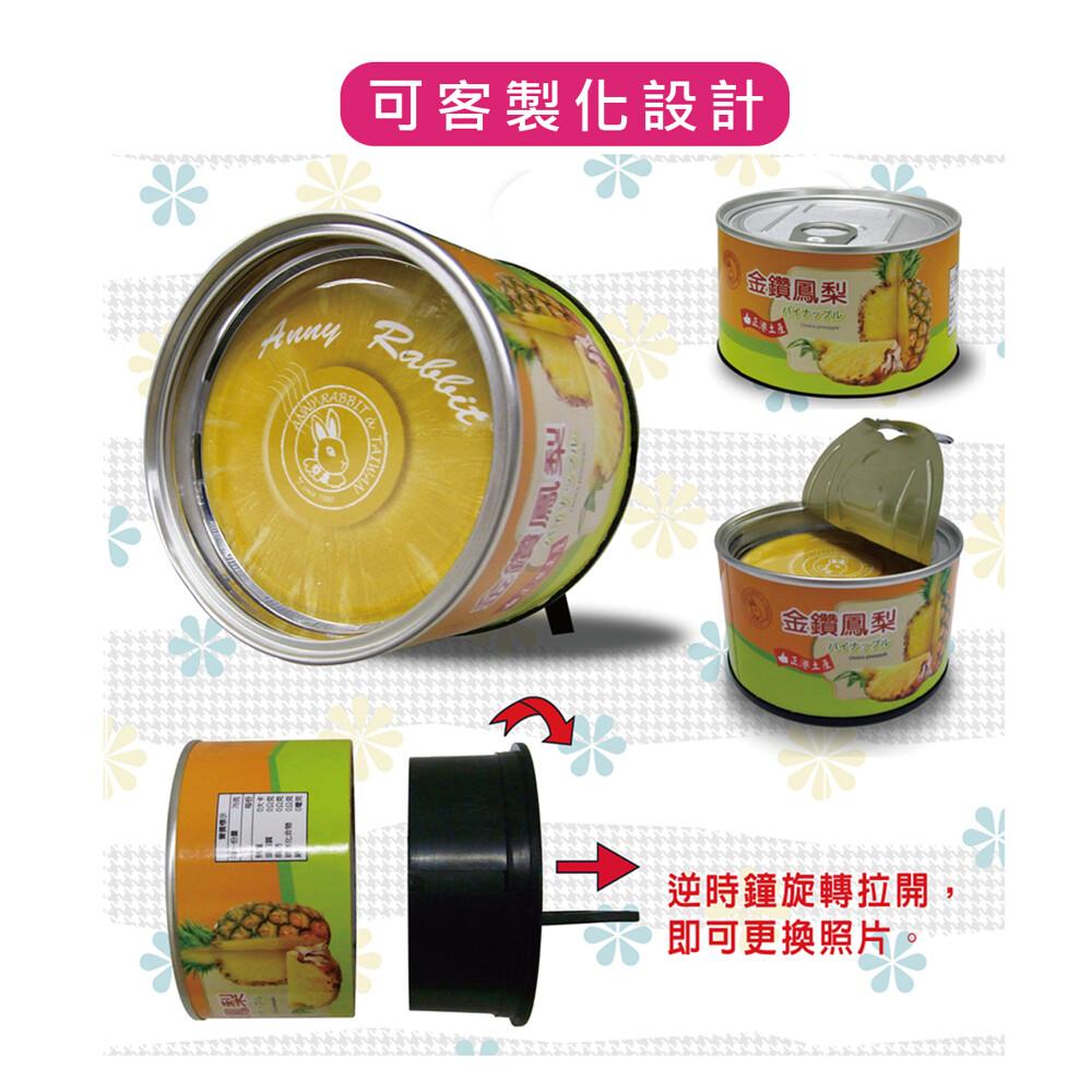 安妮兔創意罐頭相框-鳳梨 030uh-c533