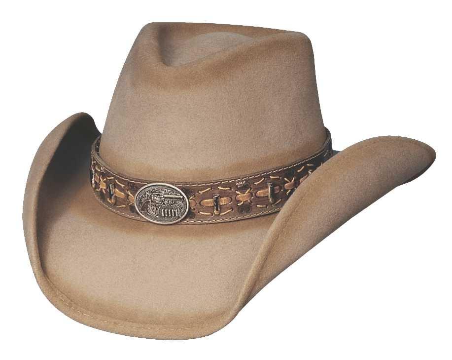 Bullhide B. Kidd - Shapeable Wool Cowboy Hat