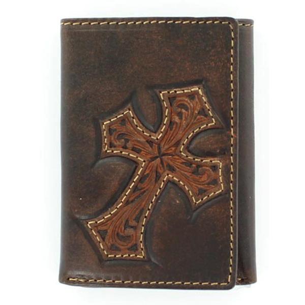 Nocona Dally - Mens Tri-Fold Wallet