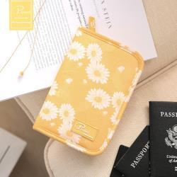 P.travel 旅行護照夾-雛菊黃