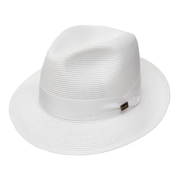 Dobbs Rosebud - Straw Fedora Hat