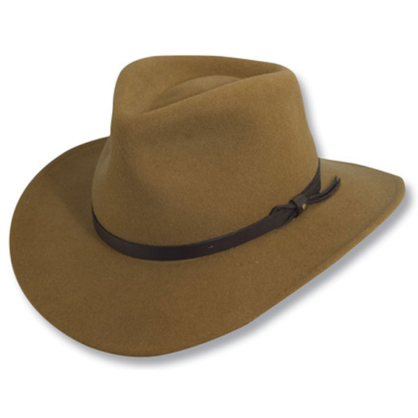Scala Piscataway - Soft Wool Felt Outdoorsman Hat