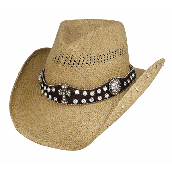 Bullhide More Than Words - Shapeable Straw Cowgirl Hat