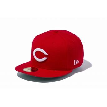 NEW ERA ニューエラ 59FIFTY NPBクラシック 広島東洋カープ Cロゴ スカーレット × ホワイト ベースボールキャップ キャップ 帽子 メンズ レディース 7 (55.8cm) 12490424 NEWERA