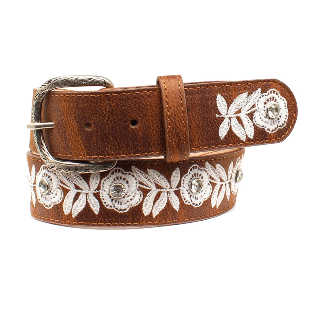 3D Beauty Belle Leather Belt - Womens Belt