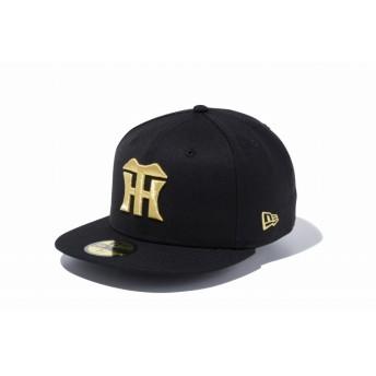 NEW ERA ニューエラ 59FIFTY 阪神タイガース ブラック × ゴールド ベースボールキャップ キャップ 帽子 メンズ レディース 7 (55.8cm) 12490430 NEWERA