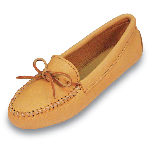 Minnetonka Double Deerskin Softsole - Womens Moccasin