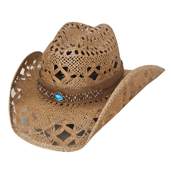 Bullhide Bean Me Up - Womens Straw Cowgirl Hat