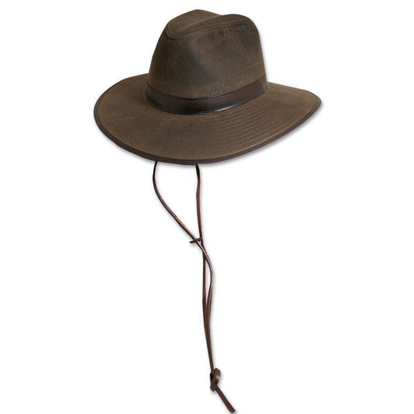 Dorfman Pacific Rock Hill - Oilskin Outdoorsman Hat