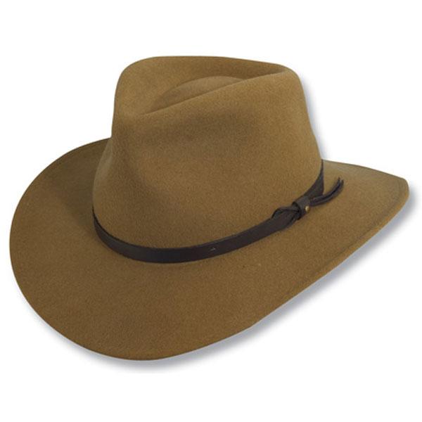 Scala Piscataway - Soft Wool Felt Outdoorsman Hat