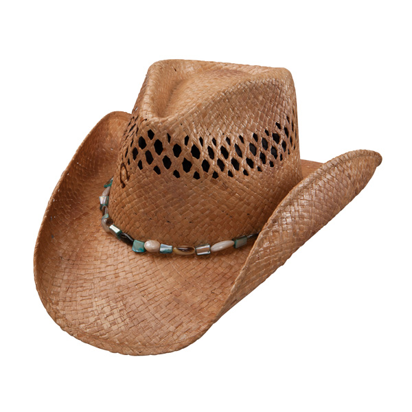 Charlie 1 Horse Maui Wowi - Shapeable Straw Cowboy Hat