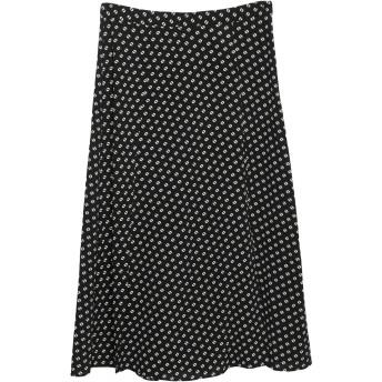 《セール開催中》MICHAEL MICHAEL KORS レディース 7分丈スカート ブラック 4 ポリエステル 98% / ポリウレタン 2%