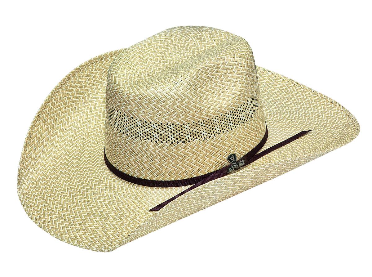 Ariat Beumont - (20X) Straw Cowboy Hat