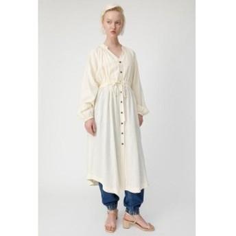 マウジー(MOUSSY)/LINEN BLEND SHIRT ドレス