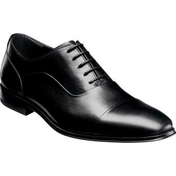 [フローシャイム] シューズ オックスフォード Jetson Cap Toe Oxford Black Leat メンズ [並行輸入品]