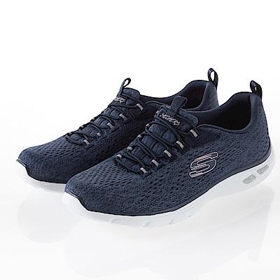 SKECHERS 女鞋 運動鞋 藍紫 12824NVY