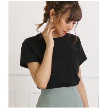【15%OFF】 アナップ シンプルタイトTシャツ レディース ブラック F 【ANAP】 【タイムセール開催中】